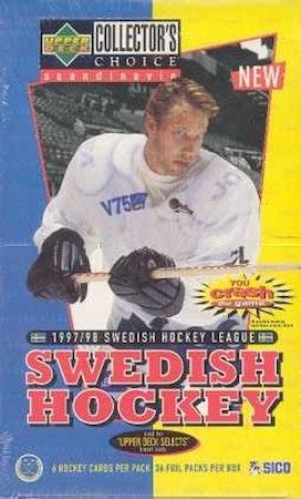 1997-98 Collector's Choice Swedish (Hobby Box)