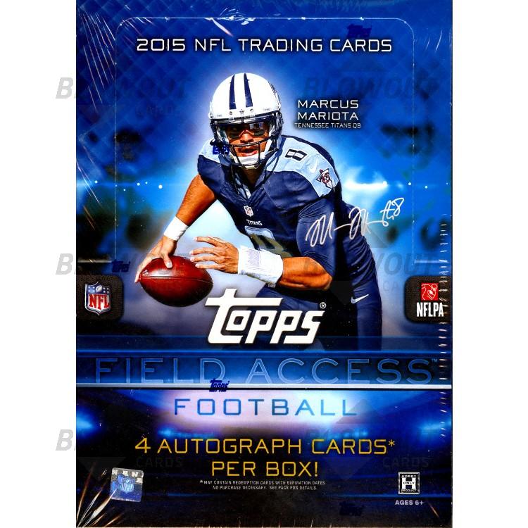 2015 Topps Field Access Football (Hobby Box)