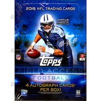 2015 Topps Field Access Football (Hobby Box)