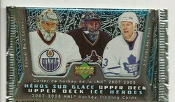 2007-08 Upper Deck Ice Heroes (Löspaket)