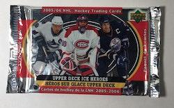 2005-06 Upper Deck Ice Heroes (Löspaket)