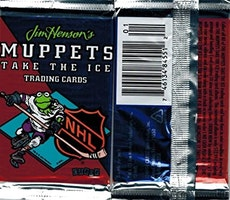 1994 NHL Jim Henson's Muppets Take The Ice Trading Cards Pack