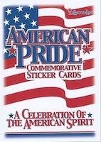 American Pride Commemorative Sticker Cards