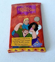 1997 The Hunchback of Notre Dame Trading Card Pack