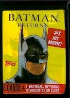 Topps Batman Returns Trading Card Pack