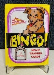 1991 Bingo Movie Trading Cards (Löspaket)