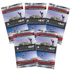 2011 Walmart Super Heat Skateboard Trading Card Game - Series 1 (Löspaket)