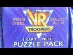 1995 SABAN's VR Troopers Puzzle Pack (Löspaket)