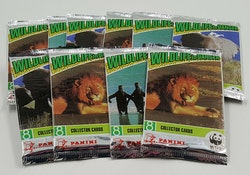 WWF Wildlife In Danger Panini Trading Card Pack
