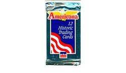 1991 Starline Americana Historic Trading Cards