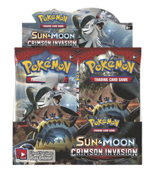 Pokemon Sun & Moon 4: Crimson Invasion Booster Box (36-pack)