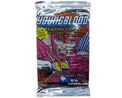 Youngblood Comic Images Vintage Trading Cards Pack