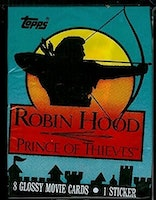 Topps Robin Hood Prince of Thieves Trading Card Pack