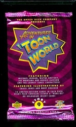 1993 Upper Deck Adventures in 'Toon World (Löspaket)