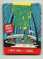 1990 Topps Teenage Mutant Ninja Turtles Trading Cards Pack
