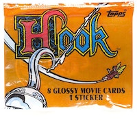 1991 Topps Hook Trading Cards Pack