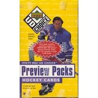 1998-99 Upper Deck Choice Preview (Löspaket)
