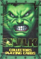 Incredible Hulk Movie Playing Card Deck 55 Cards