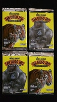 1993 Cardz The World Famous San Diego Zoo Trading Cards (Löspaket)