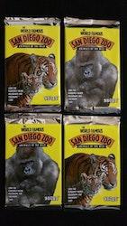 1993 Cardz The World Famous San Diego Zoo Trading Cards (Löspaket)