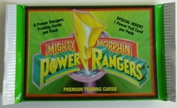 1994 Power Rangers Mighty Morphin Premium Trading Cards (Löspaket)