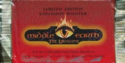 Middle-earth: The Dragons Booster Pack (15 cards) (Limited Edition Pack)