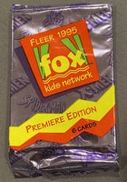 1995 Fleer Marvel Fox Kids Network Premiere Edition (rare - 6 Cards per Pack)