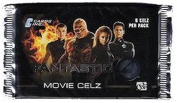 Fantastic 4 Movie Celz Trading Cards (Löspaket)