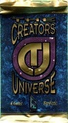 Creators Universe Factory Sealed Trading Card Pack