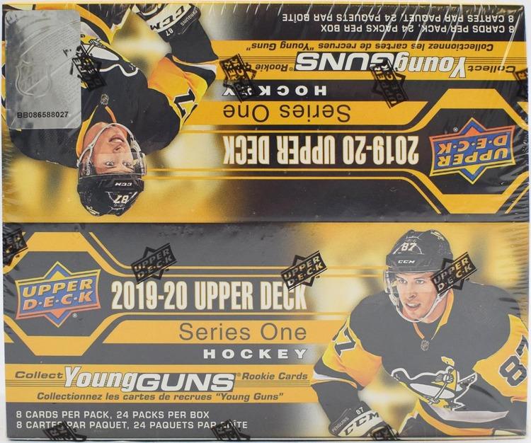 2019-20 Upper Deck Series 1 (Retail Box)
