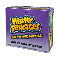 Wacky Packages Go to the Movies Hobby Box (Topps 2018)