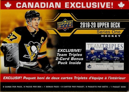 2019-20 Upper Deck Series 1 (Canadian Exclusive Box)