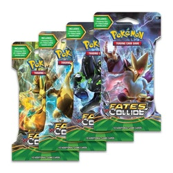 Pokemon XY-Fates Collide Sleeved Booster Pack