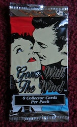 GONE with the WIND Movie Trading Cards (Löspaket)