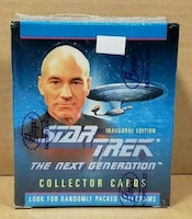 STAR TREK THE NEXT GENERATION COLLECTOR CARDS BOX (UNOPENED,SEALED)