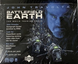 2000 Upper Deck Battlefield Earth Movie Trading Card Box
