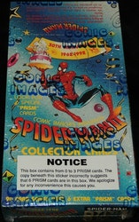 1992 Comic Images Spider Man 30th Anniversary 1962-1992 Trading Card Box