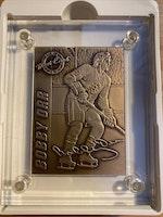 Bobby Orr Limited Edition Bronze Highland Mint #1093/5000