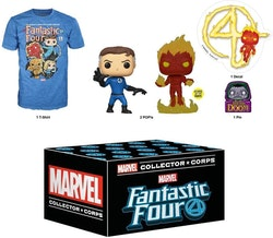 Funko Marvel Collector Corps Mystery Box, Fantastic Four