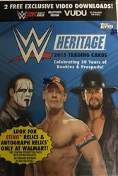 2015 Topps WWE Heritage Wrestling (Blaster)