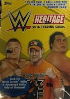 2016 Topps WWE Heritage Wrestling (Blaster Pack)