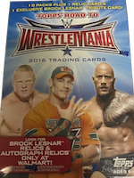 2016 Topps Road to Wrestlemania Wrestling (10-Pack Box)