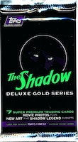 1994 Topps The Shadow Deluxe Gold Series (Movie) Trading Card Pack