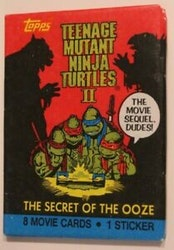 Teenage Mutant Ninja Turtles 2 Trading Card Pack Secret Of The Ooze