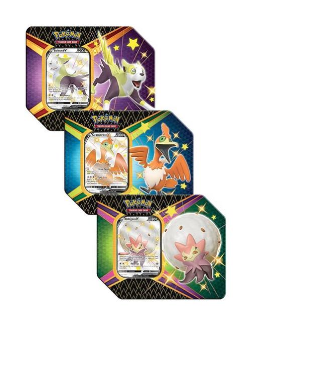 Pokemon Sword & Shield 4.5: Shining Fates Tin V
