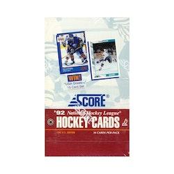 1992-93 Score Hockey (US Edition Box)