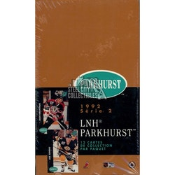 1991-92 Parkhurst Series 2 (French Edition Box)
