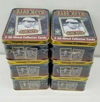 Babe Ruth Series 2 Metallic Impressions All-Metal Collector Tin