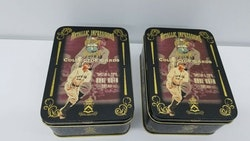 Tin of Babe Ruth Special 5 card Metallic Impression RARE
