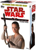 Topps Cards Star Wars Journey to Episode VII Value Box